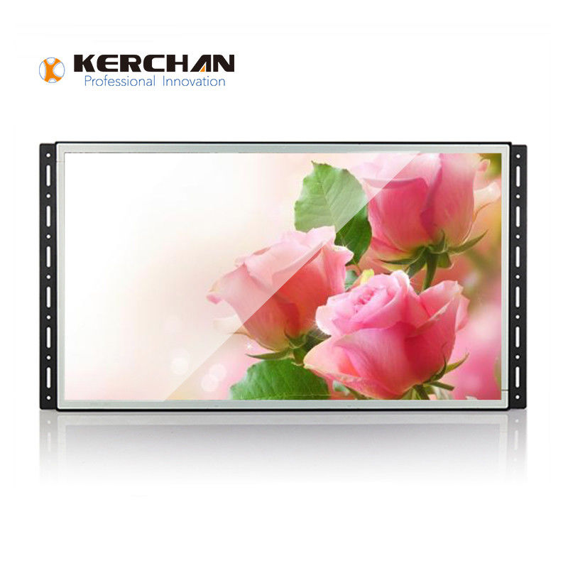 Wall Mount Frameless Full HD LCD Screen 15 Inch For Shelf Display