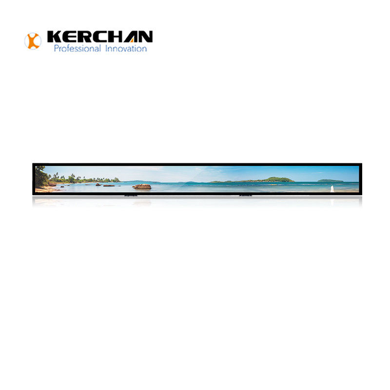 23.1 inch Advertising Stretched Bar SAD2301KL Closed Frame Capacitive Touch Panel Indoor Video Player