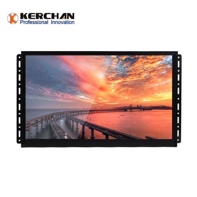 High stable android 15.6 Inch Open Frame LCD Screen with push button,motion sensor,Scanner,RFID optional