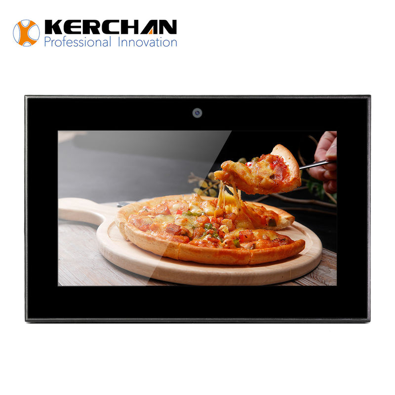 Wall Mount Battery Operated LCD Screen , Custom Advertising Display Screen